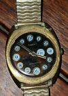 VINTAGE MEN'S CLASSIC TIMEX TELEPHONE DIAL MECHANICAL WATCH! UNUSUAL! NICE