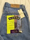 Vtg Lee Riders Blue Jeans Size 11M Easy Fit Tapered Leg USA Made 28x31 NWT