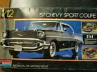 Monogram 1957 57 Chevy Sport Coupe 1:12 Model Kit 3 'n 1