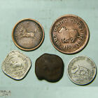 ANCIENT INDIA ANIMALS COINS COLLECTION RARE COLLECTIBLE COINS