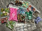 BEADS Assortment Lot Jewelry Making Crafts Materials Huge Destash Glass Stone