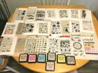 LOT OF 24 PKSCLEAR STAMPSRECOLLECTIONSSTAMPABILITIESBOBUNNY +7 DISTRESS INK
