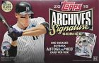 2018 Topps Archives Signature Series Active Players Edition MLB Sealed Hobby Box