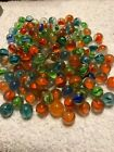 Lot Of Cats Eye Marbles 0575 To 0725
