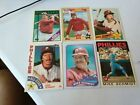 5 DIF MIKE SCHMIDT TOPPS TIFFANY GLOSSY 1984 1986 1987 1988 1983 1989 TOPPS BOX