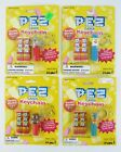 Four Sealed Pez Keychains - Clown, Elephant, Gorilla, Horse - 1998 and 1999 NEW