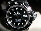 2007 Rolex Submariner 16610 Z Serial Box & Papers*No Holes*Black/SS-Free Ship!!