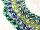 Assorted Lampwork Glass Rondelle Beads Mixed LOT 50