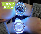 Watch Led Flash Luminous Trends Personality Students Lovers Jellies Woman Men's