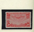 1937 TRANS PACIFIC AIR MAIL 50 CENT POSTAGE STAMP SCOTT  C 22 MH OG