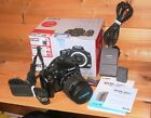 Canon EOS 400D DSLR Camera with FAULTY 18-55mm EFS IS Lens  battery, charger etc