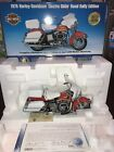 FRANKLIN MINT Diecast 1:10 1976 Harley-Davidson #0001 Electra Glide Road Rally