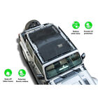 Full Coverage Eclipse Soft Top Mesh Cover Sun Shade For Jeep Wrangler JL 4 Door