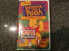Disney Winnie The Pooh Frankenpooh VHS With 4 Free Halloween Mask New And Sealed