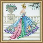 Design Works The Ball Gown Counted Cross Stitch Kit