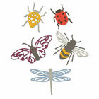 Sizzix Thinlits Die Set 5PK Insects by Jennifer Ogborn 663423