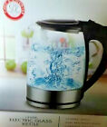 Electric Glass Kettle 18 Liter Chefs Counter filtered spout cordless serving