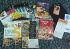 Weight Watchers Lot Points Finder Companion Books Dining Out Take 5 Cookbook NEW