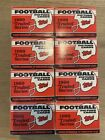 1989 Topps Football Traded Set Lot of 8 Sets - Barry Sanders, Aikman, Deion RC