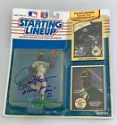 AUTOGRAPHED 1990 ROOKIE STARTING LINEUP DAVE HENDERSON OAK A's  OPEN TO OFFERS