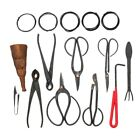 10Pcs Bonsai Tool Set Carbon Steel Extensive Cutter Scissors Kit With Nylon C4J1
