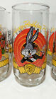 VINTAGE HAPPY BIRTHDAY BUGS BUNNY DRINKING GLASS 50 ANNIVERSARY BUGS  FRIENDS