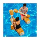 FUDOSAN Inflatable Pool Floats Pool Party Play Boat Raft Collision Toys Wood