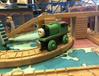 Thomas the Train Wooden Railway - PERCY- 1992-1993 - Flat Magnets - Staples