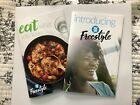 2 NEW Weight Watchers WW books Intro Freestyle Eat What You Love weight loss