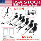 4 18 6000N Electric Linear Actuator 1320lbs Max Lift Heavy Duty 12V DC Motor