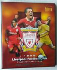 Futera Liverpool 1998 Base + Players Edition Complete Sets + Binder