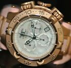 Invicta Women's Rare Subaqua Swiss Chrono White MOP Dial Pink Poly Watch 17240