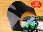 Lip Windshield Windscreen For Harley Dyna Sportster Softail Quarter Fairing Blk