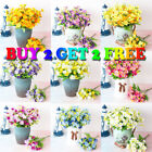 Artificial Small Daisy Grass Flower Outdoor Flower Plant Home Decoration