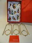 Winter Lane 10 Pc Glass Ornament Holiday Decor Gift Set Nativity A11 102