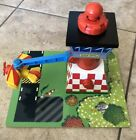 Learning Curve Thomas Train Wooden Sodor Airfield with Bi-Plane Tiger Moth!