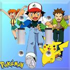 Pokemon Gotta Catch Them All Ash Themed Light Switch Cover Choose Your Cover