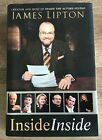 JAMES LIPTON SIGNED INSCRIBED INSIDE INSIDE THE ACTORS STUDIO 2007 FIRST ED HC