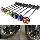 For Kawasaki Z1000 Z900 Motorcycle Front Axle Fork Wheel Protector Crash Sliders
