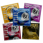 ATLAS Mixed Variety Sampler Condoms ~ 250 bulk pack ~