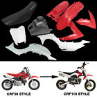 For CRF50 SSR Plastics Fender + Tank + Seat 50cc 70 90 110 125 PIT DIRT BIKE