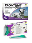 Frontline Plus for Dogs 45 88 lbs 3 Doses Genuine USA