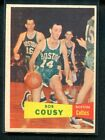 Bob Cousy Rookie Cards Guide and Checklist 10
