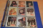 1975 TOPPS PLANET OF THE APES TRADING CARD SET #1-66!!! OVERALL NM!!! MUST SEE!!
