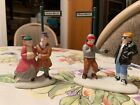 Lemax Village Collection Porcelain Figurine Too Cool to Be Cold Street Signs New