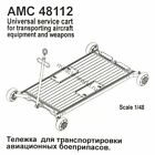 Advanced Modeling AMC48112 Service cart for aircraft weapons & equipment 1/48