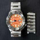 Seiko Orange Monster Automatic Steel Diver's Watch SKX781 First Generation