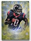 2013 Topps Inception Football Rookie Autographs Guide 49
