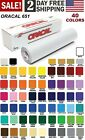 Oracal 651 Vinyl Glossy Permanent 12 Inch x 6 Feet colors Craft Sign Cutter Roll