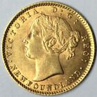 1882-H Gold NewFoundland 2 Dollar AU Uncertified